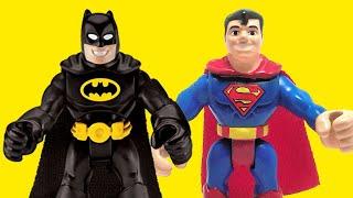 getlinkyoutube.com-BATMAN vs SUPERMAN dawn of justice trailer v imaginext toys new 2016