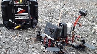 getlinkyoutube.com-4s Ripping Diatone Spadger 180 Mini Quad Flown With Dragonlink