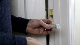 getlinkyoutube.com-Diy secret hiding places (16) Hide your money behind door hinges