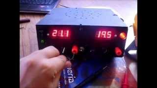 getlinkyoutube.com-Fuente Dual de Voltaje Variable con alarma de Corto Circuito