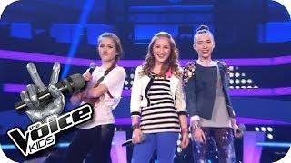 getlinkyoutube.com-Jessie J. - Domino (Sarah, Alexandra, Rita) | The Voice Kids 2013 | Battle | SAT.1
