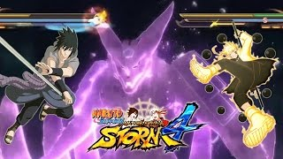 getlinkyoutube.com-Naruto Shippuden Ultimate Ninja Storm 4 Susanoo Kurama AWAKENING Gameplay, Updated Character Select