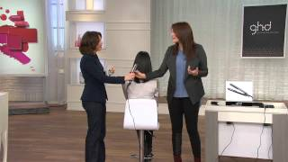 "getlinkyoutube.com-ghd Eclipse Professional 1"" Styling Iron with Sandra Bennett"