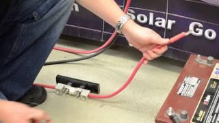 getlinkyoutube.com-Go Power! 1500 watt Pure Sine Wave Inverter Product Installation