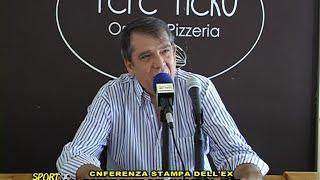 CONFERENZA STAMPA DELL'EX PRESIDENTE DEL MARSALA 1912 PEPPE BONAFEDE