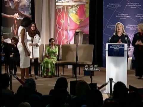 Secretary Clinton Hosts the 2012 International Women of Courage Award Ceremony