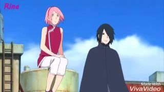 Sasuke uchiha Sakura Haruno e uchiha sarada