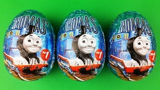 getlinkyoutube.com-Thomas and Friends Surprise Eggs Opening - Edward, Percy, Thomas Toys