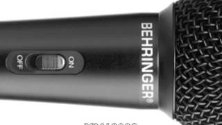 getlinkyoutube.com-Mics Comparison: Shure SM58 vs Behringer XM1800S