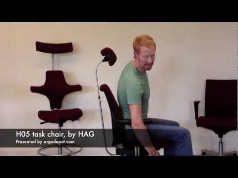 H05 office chair video review