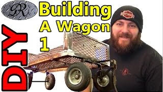 getlinkyoutube.com-★DIY Homemade Wagon Build Project. One Man's Trash Is Another Man's Treasure