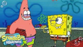 SpongeBob & Patrick: 🍫 Chocolate w/ Nuts 🥜 in 5 Minutes | Nick width=
