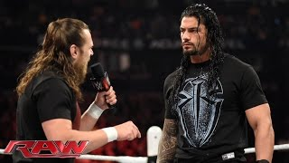 Daniel Bryan confronts Roman Reigns: Raw, February 23, 2015