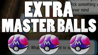 getlinkyoutube.com-Extra Master Ball Guide - How to get MORE MASTER BALLS in Pokemon Omega Ruby and Alpha Sapphire!