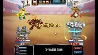 getlinkyoutube.com-Monster Legends - ( 85 vs 100 ) How to win hackers Pt 1
