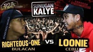 getlinkyoutube.com-SUNUGAN KALYE - LOONIE vs RIGHTEOUS ONE (promo battle)