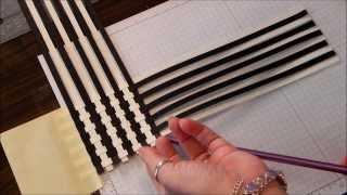 getlinkyoutube.com-Paper Weave Scrapbook technique
