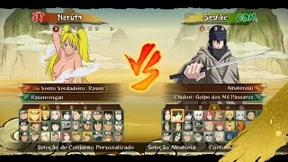 getlinkyoutube.com-DOWNLOAD Pack 4.4 MOD Naruto Ninja STORM Revolution™ NEW Costumes WIp, Characters, Stage modded!