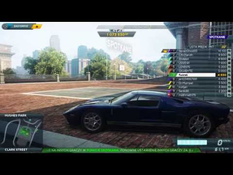 Need for Speed: Most Wanted (2012) - Multiplayer (tryb online)