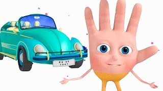 Transport Vehicle Finger Family   VeeJee Surprise Eggs Finger Family   Finger Family Songs