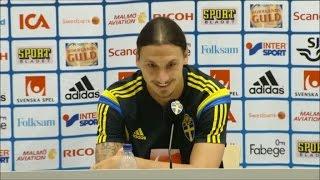 getlinkyoutube.com-Zlatan hits out at swedish journalist Olof Lundh - TV4 Sport