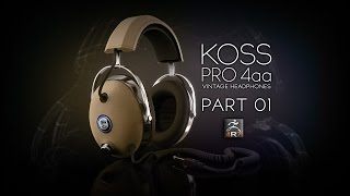 getlinkyoutube.com-ZBrush 4R7 Zmodeler Tutorial - Koss Pro 4AA (Part 01)