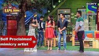 Tiger and Shraddha come across Self Proclaimed mimicry artist - The Kapil Sharma Show