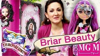 getlinkyoutube.com-Briar Beauty Thronecoming Book Ever After High | Браер Коронация набор обзор на русском ★MGM★