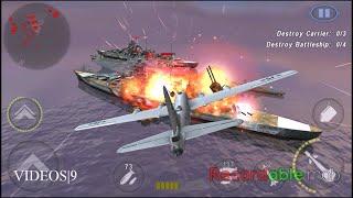 getlinkyoutube.com-GUNSHIP BATTLE:Fleet Attack -B-29 Superfortress