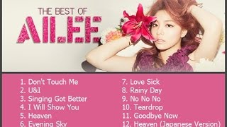 getlinkyoutube.com-Best Songs of Ailee (에일리) - 2014
