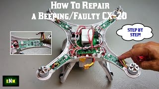 getlinkyoutube.com-How To Repair a Beeping/Faulty CX-20 or Phantom Quadcopter