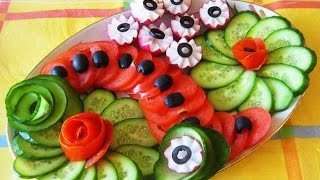 getlinkyoutube.com-Нарезка овощей. Оформление нарезки