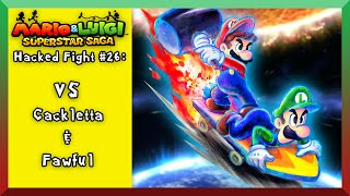 getlinkyoutube.com-M&LSS-[Hacked Fights #26]- Mario & Luigi Vs Cackletta & Fawful