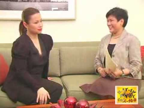 Hataw Pinoy Chicago's Alpha Nicolasin interviews Lea Salonga (09-25-09)