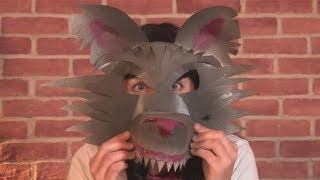 How To Make A Werewolf Mask