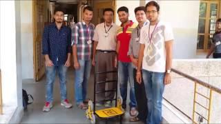 getlinkyoutube.com-Design Engineering Project-Stair Climbing Trolley-Journey Video