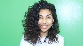 getlinkyoutube.com-Short Curly Hair Routine