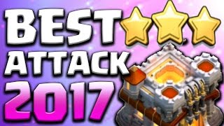 getlinkyoutube.com-OMG!! Best TH11 Attack Strategy 2017 | Get 3 Stars in Clan Wars | Clash of Clans