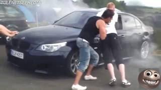getlinkyoutube.com-Selectie cu esecuri facute cu masini BMW !! Faze De Ras Din Luna Decembrie 2014 || Faze comice maxim