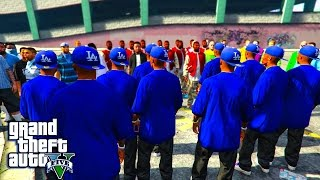 getlinkyoutube.com-GTA 5 - KILLER CLOWNS VS BLOODS AND CRIPS PART 3