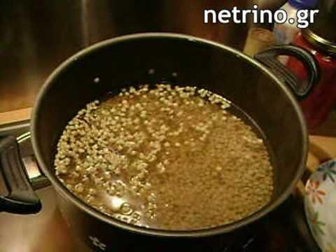 Συνταγή για φακές με ντοματοχυμό