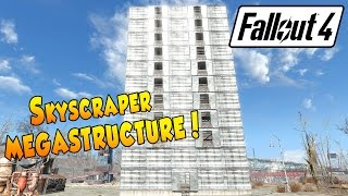 getlinkyoutube.com-Fallout 4 - Skyscraper Megastructure