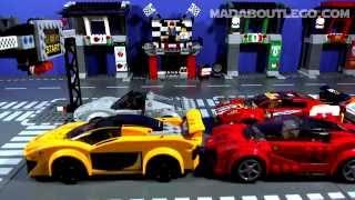 getlinkyoutube.com-LEGO TOP GEAR  LONDON RACE