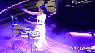 getlinkyoutube.com-Sheila E. at Prince concert in Oakland. Ca.