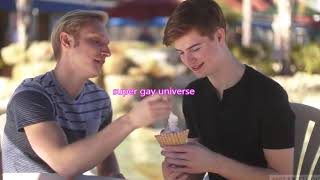GAY COUPLE GAY BOYFRIENDS GAY LOVE STORY GAY BOYS KISS day by day shopping GAY DATE