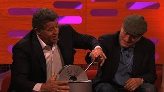 getlinkyoutube.com-Sylvester Stallone takes over the red chair - The Graham Norton Show: Preview - BBC One