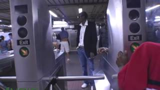 Vybz Kartel and his first time on the New York subway