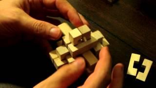 getlinkyoutube.com-24 Piece Burr Puzzle (Wood)