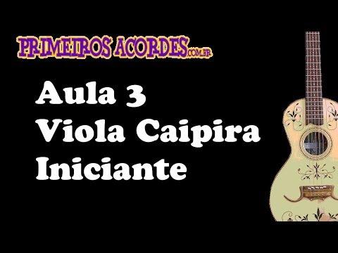 Curso de Viola Caipira - Aula 3 de 7