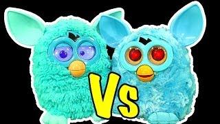 getlinkyoutube.com-Furby Vs Furby Dark Side Co Co No No Knock Off Nasty